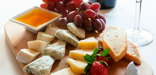 An Easy Cheese Plate