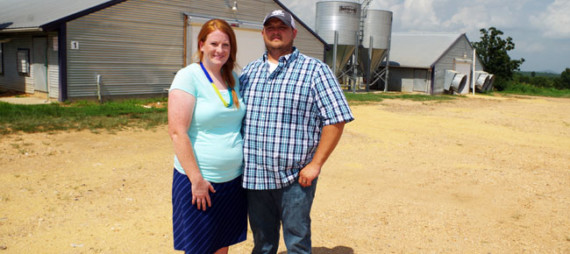Allen & Melissa Glidewell, North Central Region Farm Family of the Year