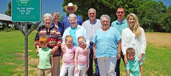 John & Mikki Hamilton ~East Central Farm Family of the Year