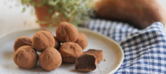 Chocolate Sweet Potato Truffles