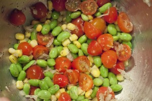 edamame, easy edamame recipe, high protein, edible soybeans, vegetable soybeans, national soyfoods month, succotash, easy succotash recipe, healthy recipe, healthy side dish, healthy lunch, healthy side dish recipe, healthy lunch recipe, recipes, cooking, arkansas, taste arkansas, food