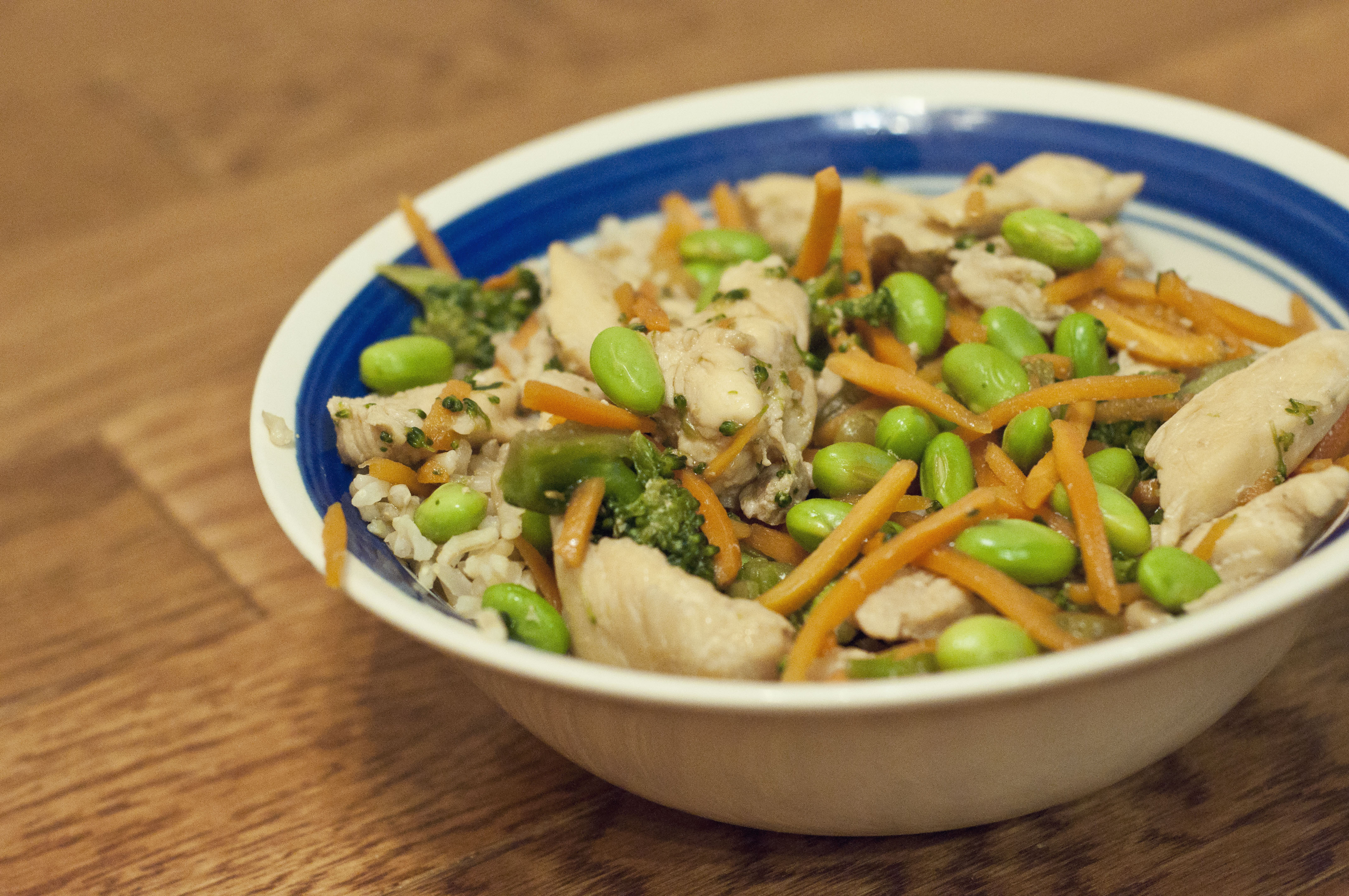 chicken, chicken recipe, teriyaki recipe, recipe, cooking, food, taste arkansas, arkansas rice, agriculture, dinner, easy recipe, easy chicken teriyaki rice bowl recipe, edamame,