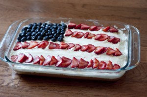 flag cake recipe, easy flag cake, fourth of july flag cake, white cake, fourth of july recipe, easy fourth of july recipe, food, cooking, taste arkansas