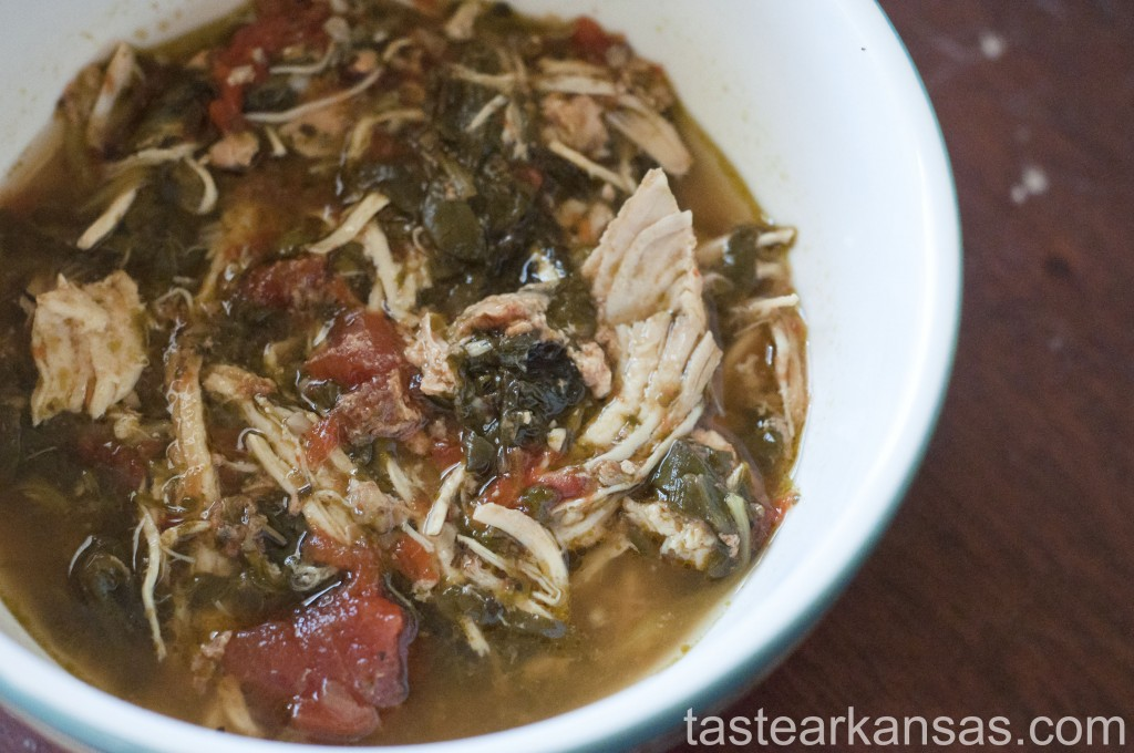 Slow Cooker Spinach Chicken