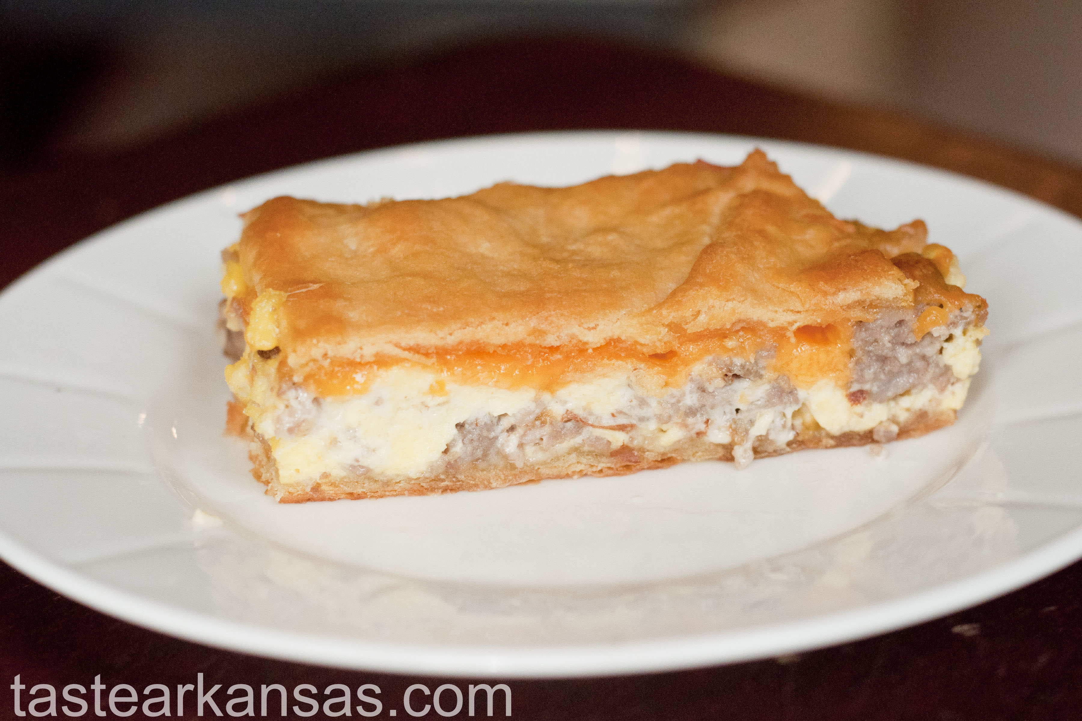 Sausage and Cream Cheese Breakfast Casserole