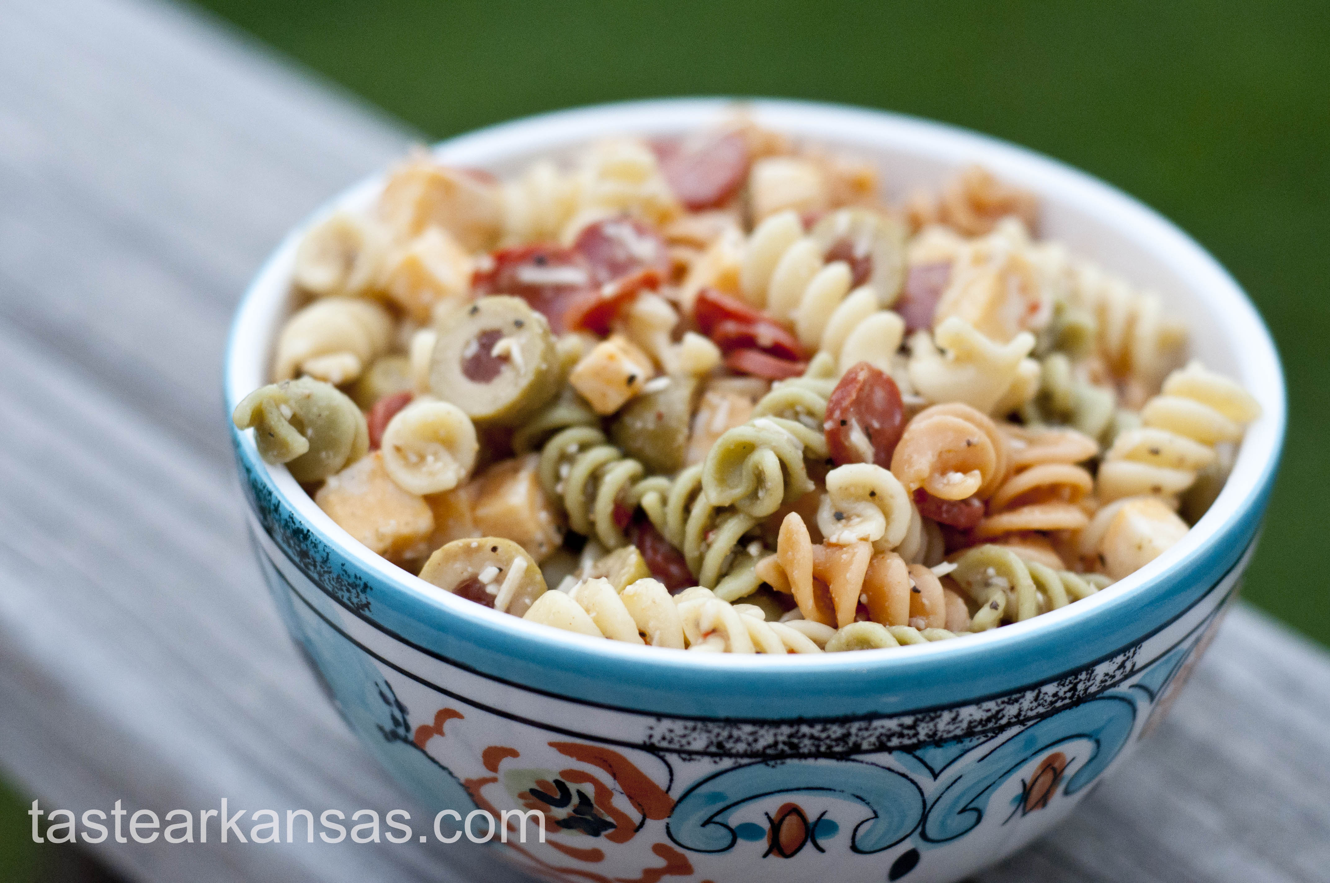 easy pasta salad taste of arkansas