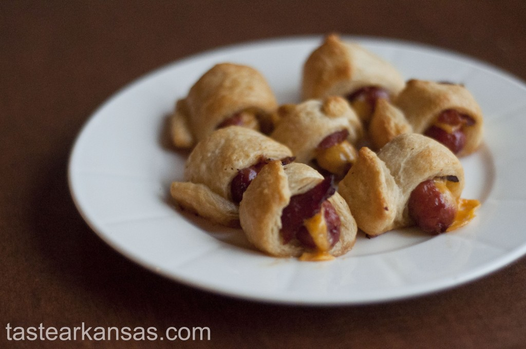 Bacon & Cheddar Pigs in a Blanket