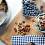 Honey Blueberry Pecan Rice Pudding