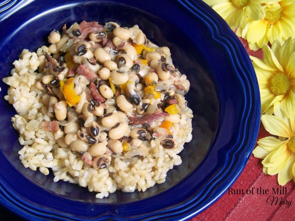 FB black eye peas in bowl
