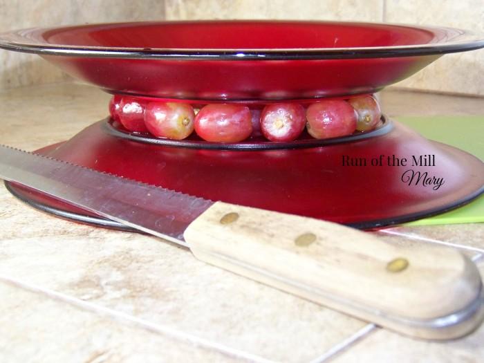 FB fruit salsa cutting grapes