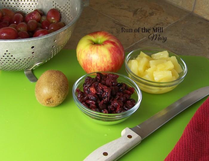 FB fruit salsa ingredients
