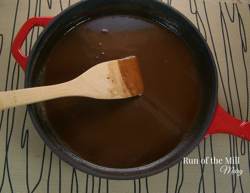 FB chocolate gravy done in pan