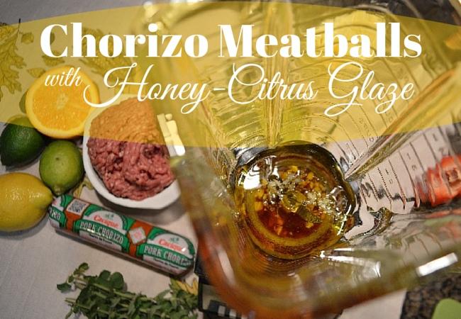 Chorizo Meatballs title image