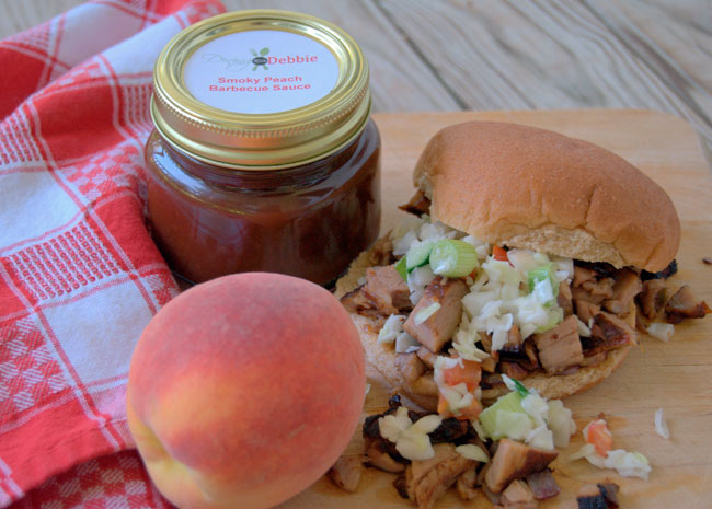 smoky-peach-bbq-dining-with-debbie
