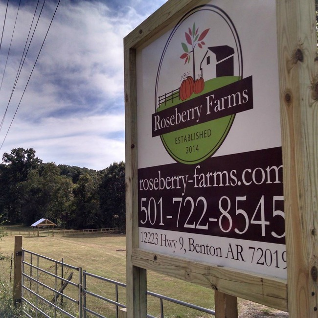roseberry farms sign