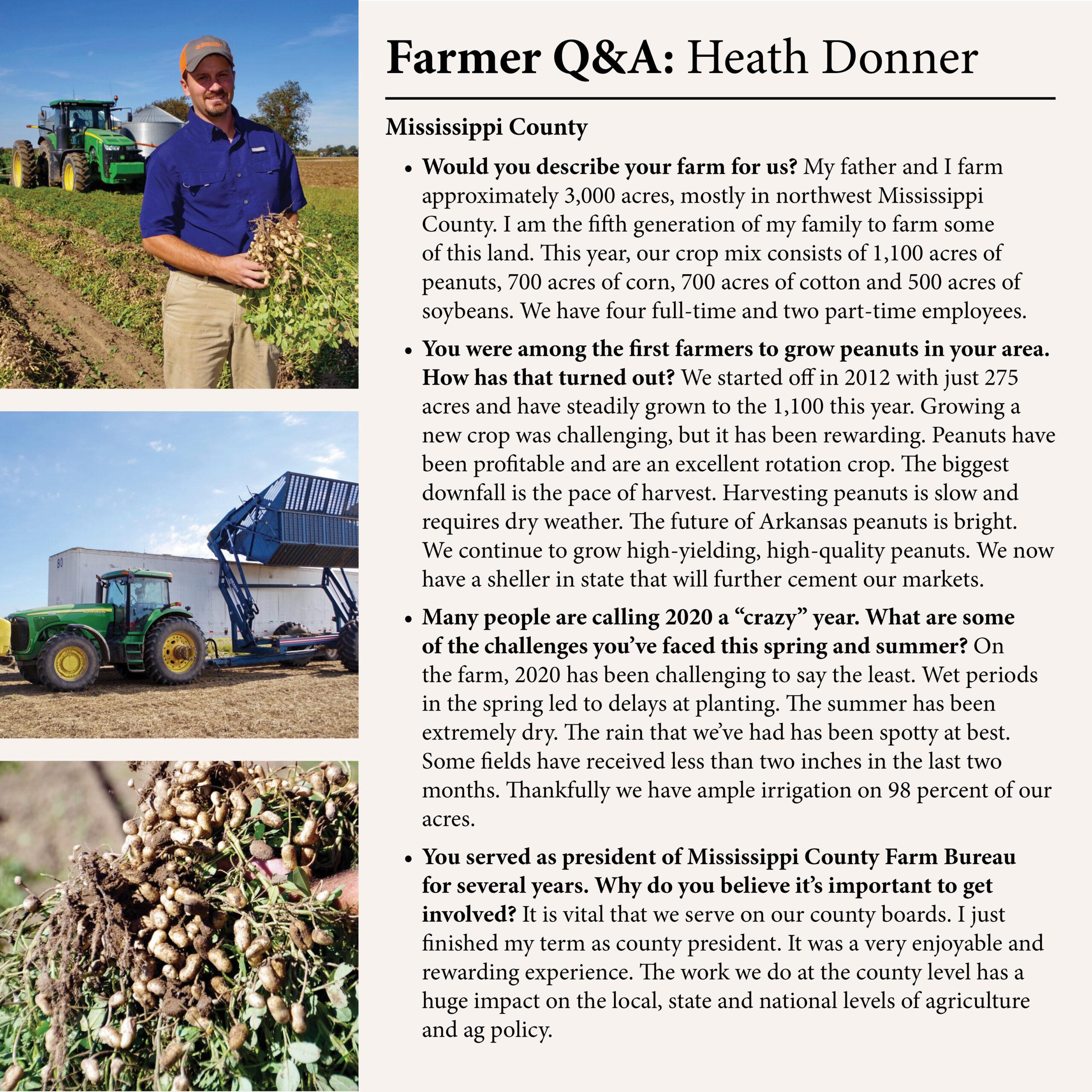 Farmer Q&A with Heath Donner